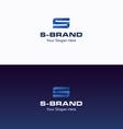 S Brand logo vector image vector image