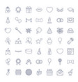 49 celebration icons vector image vector image