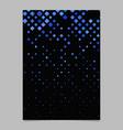 Abstract digital diagonal square pattern poster