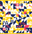 minimalist background seamless pattern with simple vector image vector image