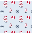 Seamless pattern in marine style vector image vector image