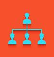 social media marketing sign whitish icon vector image vector image