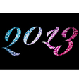 Welcome 2013 vector image