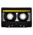 vector audio cassette vector image