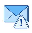 spam line icon vector image