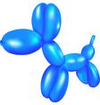 balloon dog vector image vector image