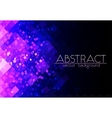 Bright purple grid abstract horizontal background vector image