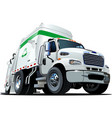 Cartoon Garbage Truck vector image