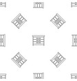 dresser pattern seamless vector image vector image
