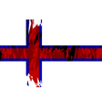 Flag of the Faroe Islands vector image vector image
