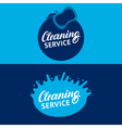 Set of hand written lettering Cleaning Service