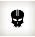 Sport Moto Speed Skull Isolated vector image