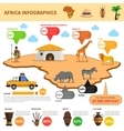 Africa Infographics Set vector image vector image