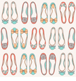 Ballerinas seamless pattern vector | Price: 1 Credit (USD $1)