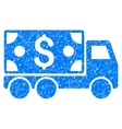 Cash Delivery Grainy Texture Icon vector image vector image
