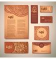 coffee concept design vector image vector image