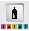 Feeding bottle vector image