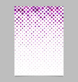 Geometrical diagonal rounded square mosaic