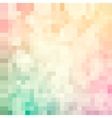 Mosaic colorful pattern vector image vector image