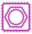 Pink Frames vector image vector image