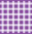 purple gingham pattern geometric background vector image vector image