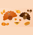 thanksgiving miscellaneous vector image vector image