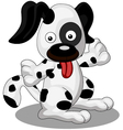 A Cute and Chubby Dog vector image
