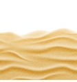 Beach sand seamless texture background vector image