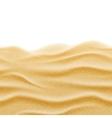 Beach sand seamless texture background vector image