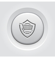 Customer Protection Icon vector image vector image