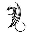 dragon 11 vector image