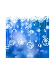 Elegant christmas background EPS 8 vector image vector image