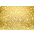 gold glitter dust texture shining on golden vector image