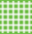 green seamless pattern gingham background vector image vector image