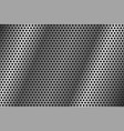 metal perforated background round shaped holes vector image vector image