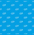 ooops comic book explosion pattern seamless blue vector image vector image