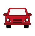 red car design vector image vector image