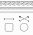 Rope Black vector image