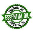 essential oil label or sticker vector image