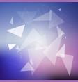 geometric design background vector image vector image