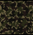 knitted camouflage seamless texture camo knit vector image