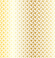 mod gold pattern vector image
