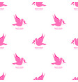 national breast cancer awareness month seamless vector image vector image