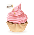New Cupcake vector image vector image