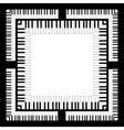 Piano Keyboard vector image vector image
