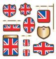 uk plaques and signs vector image vector image