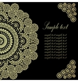 Vintage Background Traditional Ottoman Motifs vector image vector image