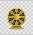 wheel fortune vector image