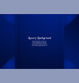 abstract blue background in premium concept with vector image vector image