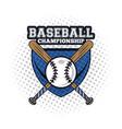 baseball player icon vector image vector image